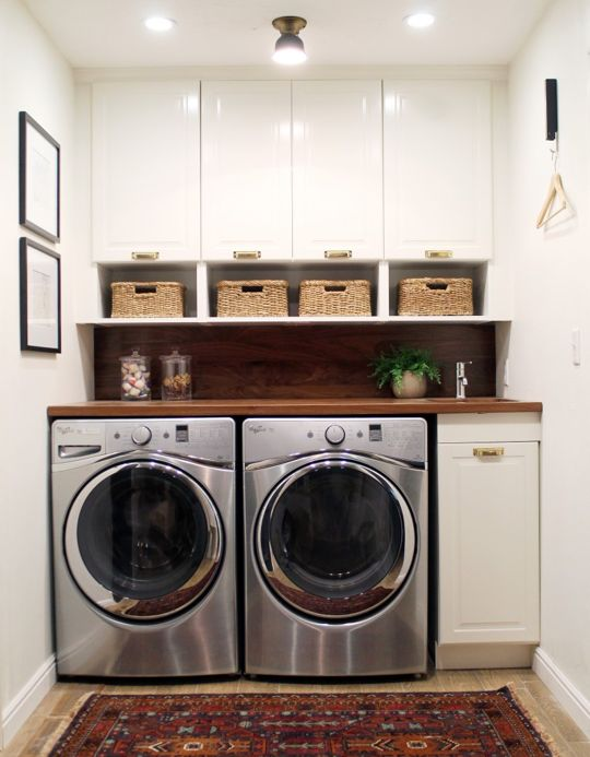 Lovely and Efficient Laundry Rooms Shanell Mergerson Design