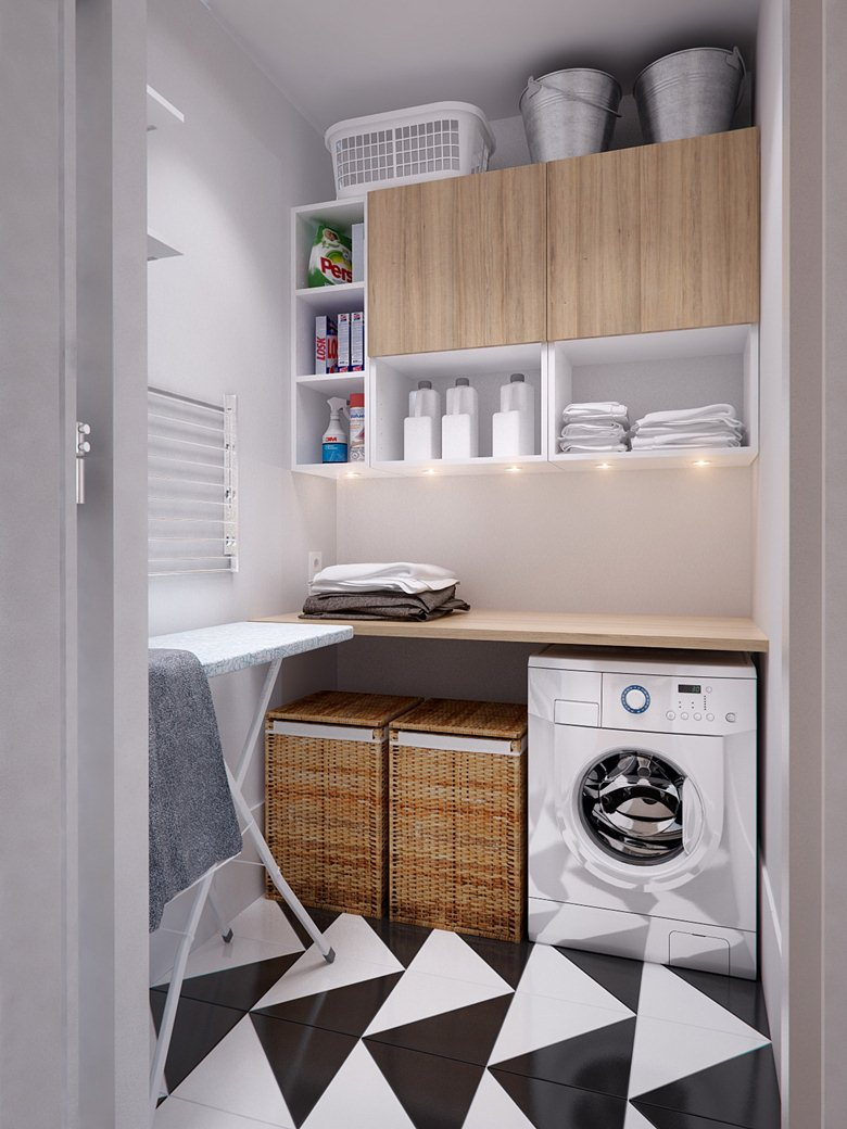Lovely and Efficient Laundry Rooms – Shanell Mergerson Design